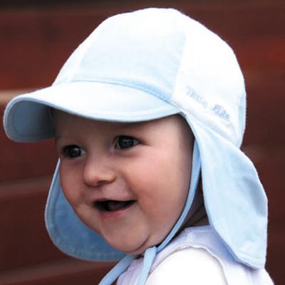 baby sun hats sun hat - baby hat - soft baby legionnaires - blue/white upf50+ excellent IXUOJUM
