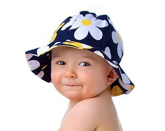 baby sun hats sun hat pattern baby toddler children - reversible - pdf sewing pattern BTDEDWR