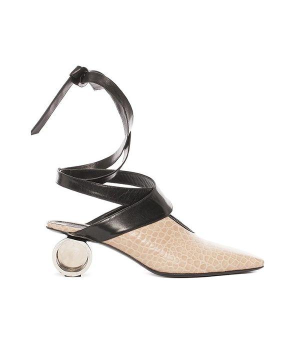 ballerina shoes j.w. anderson nude cylinder heel ballet shoes OOFPLDP