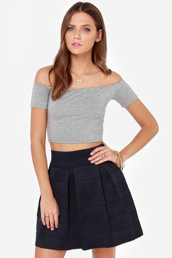 bandage skirts cute navy blue skirt - bandage skirt - skater skirt - $48.00 PKBGMCV