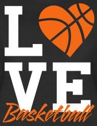 basketball t shirts love basketball womenu0027s t-shirt - womenu0027s premium t-shirt IDODCCG