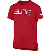 basketball t shirts product image nike boysu0027 elite shooter graphic basketball t-shirt SCUFMIH