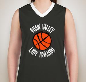 basketball t shirts shaw valley lady trojans XMSRKOZ