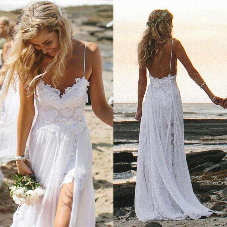 beachy wedding dresses beach wedding dress - weddingbee YMVSZIW