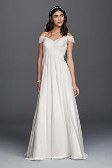 beachy wedding dresses long a-line beach wedding dress - galina WVEHMIQ