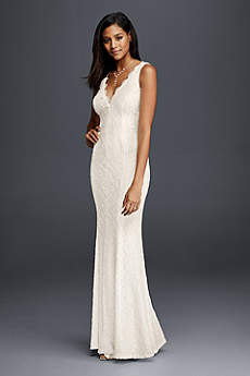 beachy wedding dresses long sheath beach wedding dress - db studio VUYAAOJ