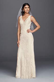 beachy wedding dresses long sheath beach wedding dress - galina FYADKTV