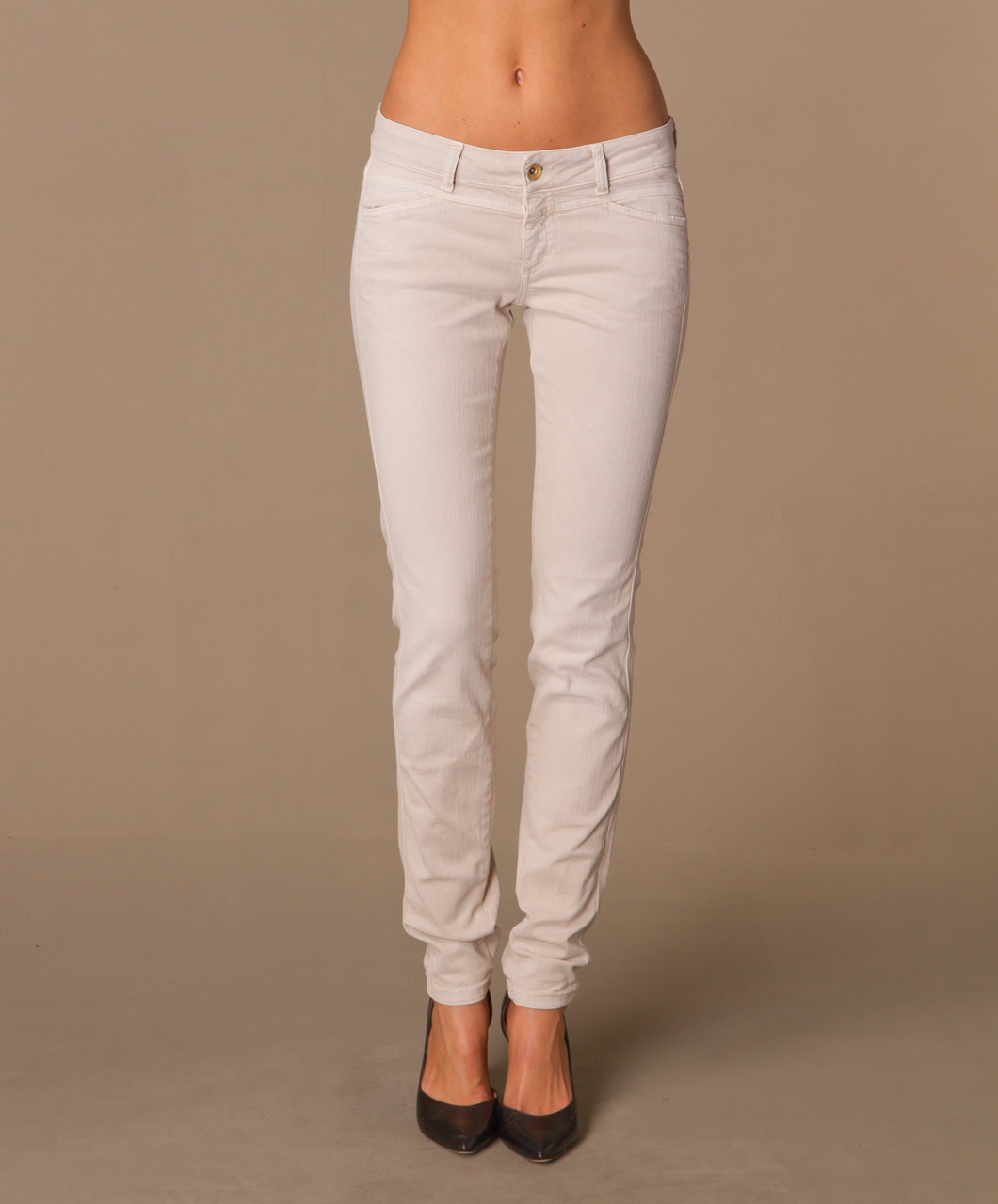 The Fancy Beige Jeans