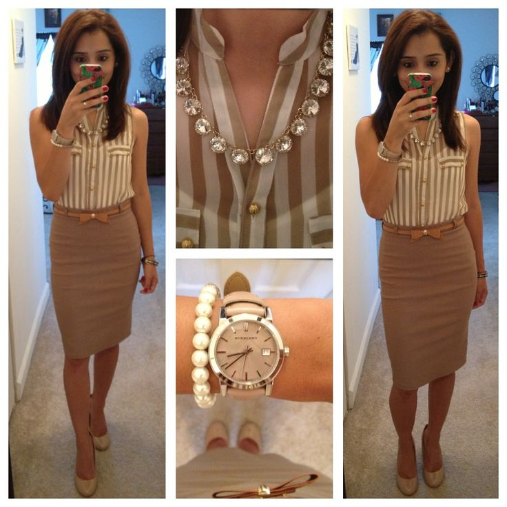best 25+ beige skirt outfit ideas on pinterest ZMAYONS