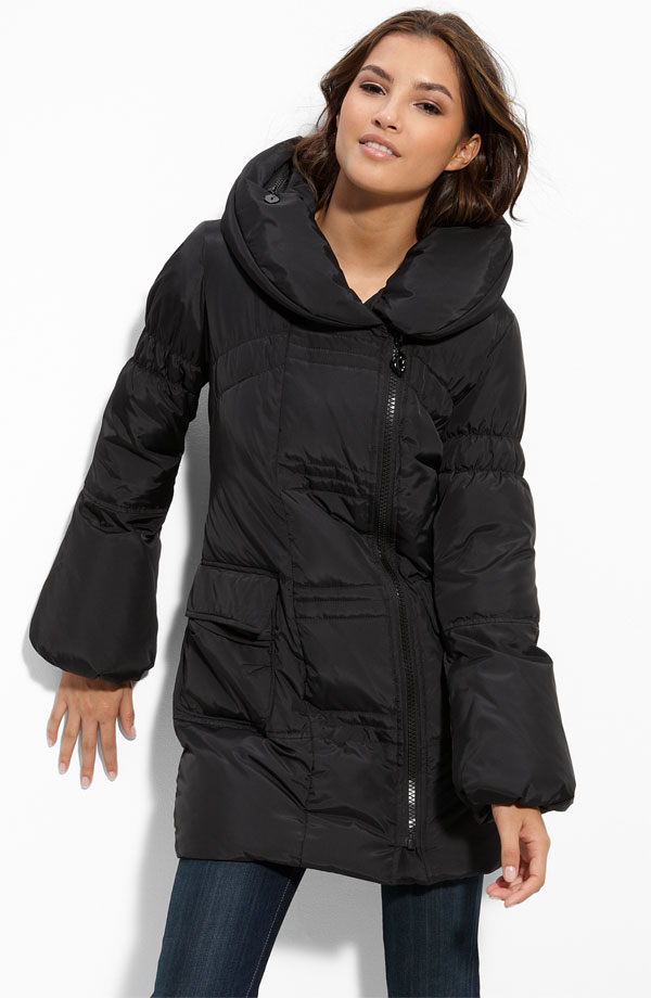 betsey johnson coats betsey johnson asymmetrical zip puffer coat | nordstrom IHETJHE