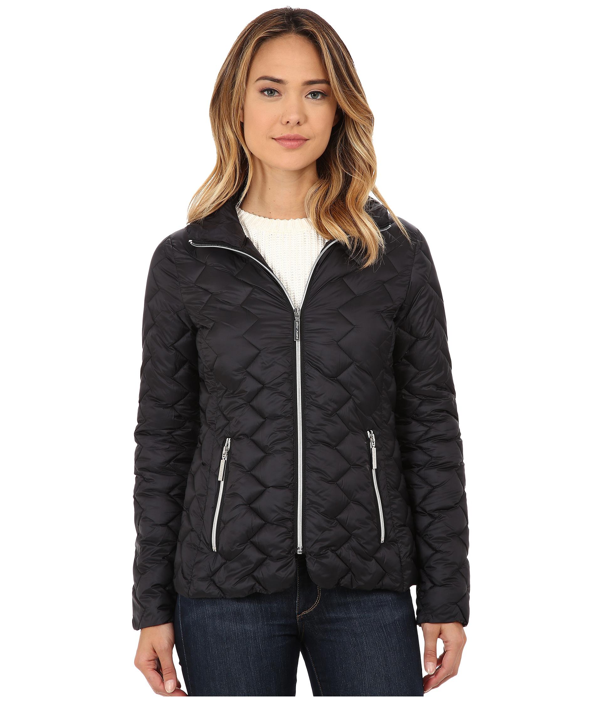 betsey johnson coats ... betsey johnson - short lightweight puffer MPVYLCA