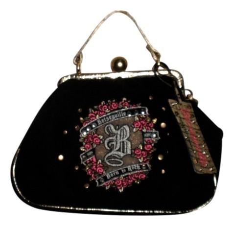 betseyville bags betseyville velour gold chain shoulder bag UPQMRHG