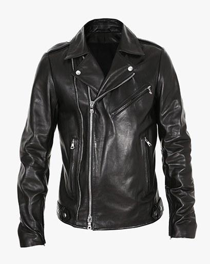 biker leather jackets balmain $3,640, available at balmain.com OHDJNXL