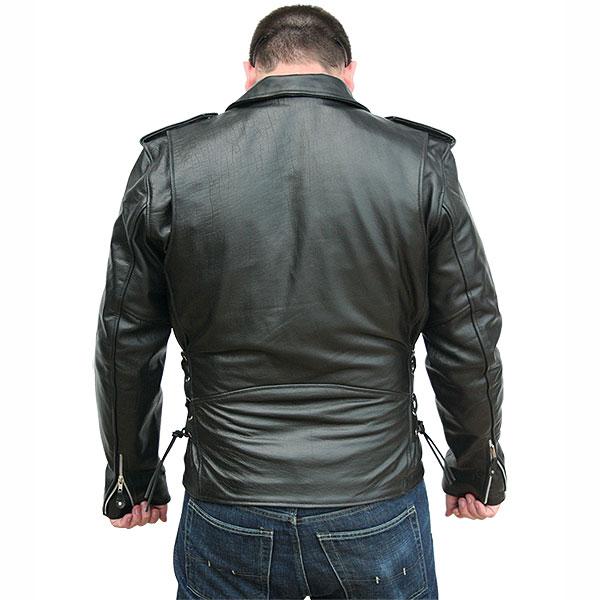 biker leather jackets ... classic biker leather jacket ... SHMHVCV