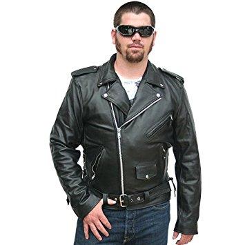 biker leather jackets motorcycle jackets - classic biker leather jacket 62 YWPPLFS