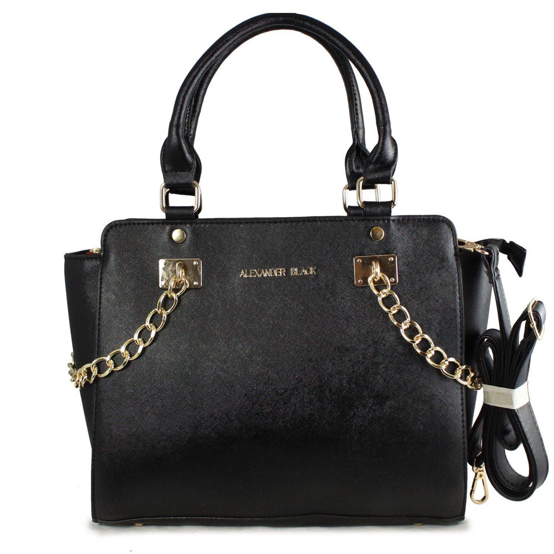 black bags alexander black spencer two sided tote bag FXYAYVU