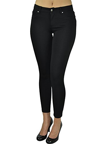 black dress pants alfa global skinny dress pants at amazon womenu0027s clothing store: KBXLWQS