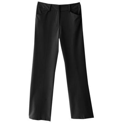 black dress pants girls 7-16 iz amy byer dress pants VIHBNAC
