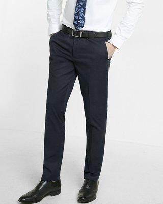 black dress pants skinny innovator navy dress pant | express HKXWQLY