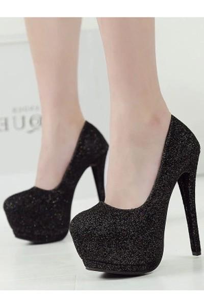 black glitter heels black glitter platform high heels. loading CPWVRIO
