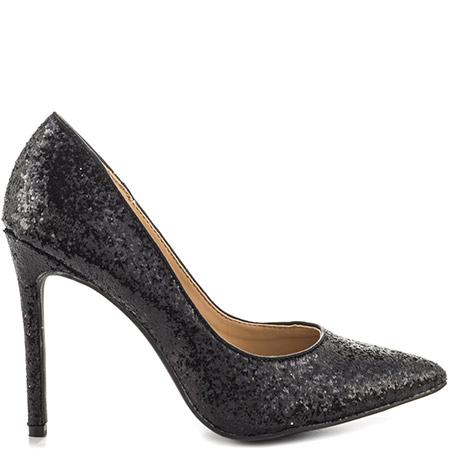 black glitter heels penny loves kenny opus glitter - black MEARQHK