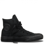 Black high top converse – A best option.