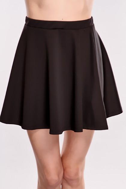 black high waisted skirt black high waist skater skirt @ amiclubwear clothing skirts online  store:long skirt,mini skirts,poodle JCYGMDD