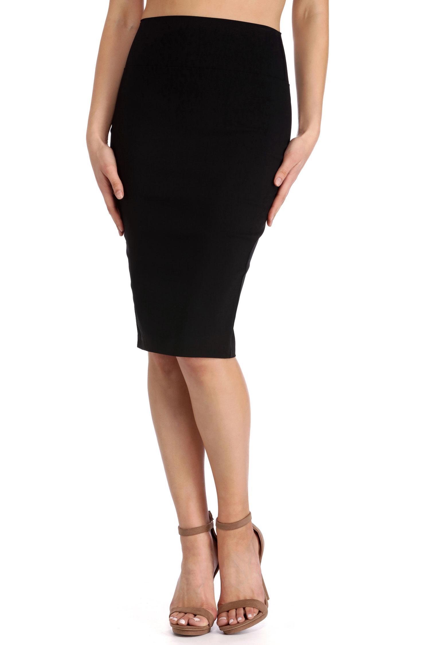 black high waisted skirt black high waisted pencil skirt AXFBXTF