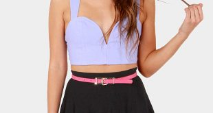 black high waisted skirt cute black skirt - high-waisted skirt - skater skirt - $55.00 IJYPZKS