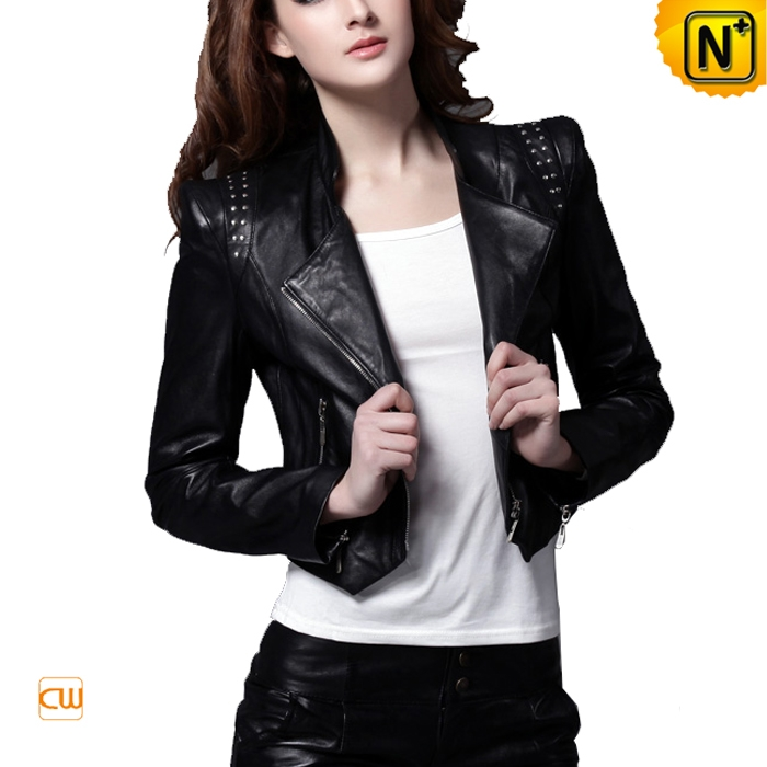 black jackets for women cropped black leather jacket for women YROLKXM