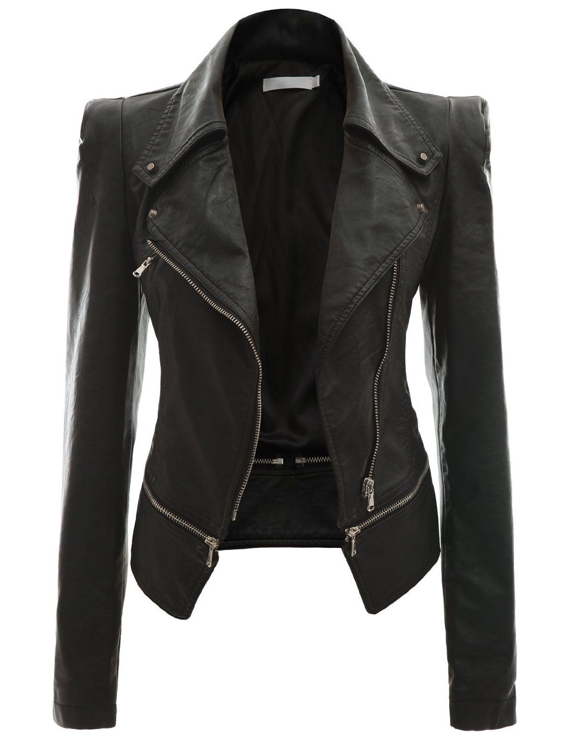 black jackets for women fashionable leather jackets for women | new daily fashion MRWWONO