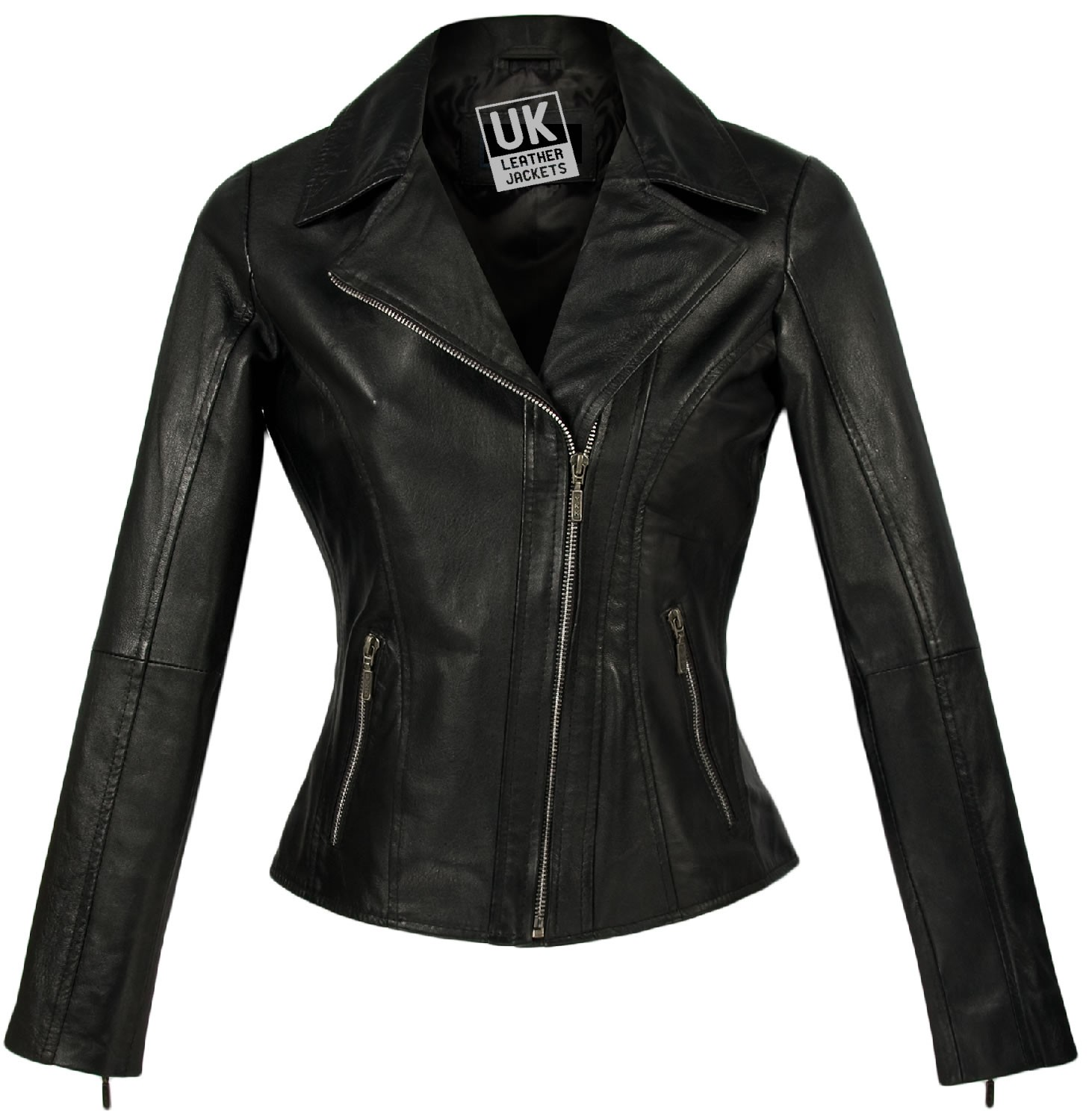 black jackets for women womenu0027s leather jacket - TFGRMIB