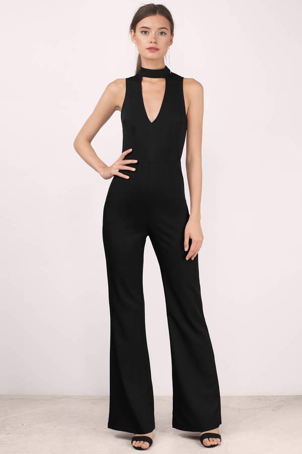 black jumpsuits final sale QZNLCEX