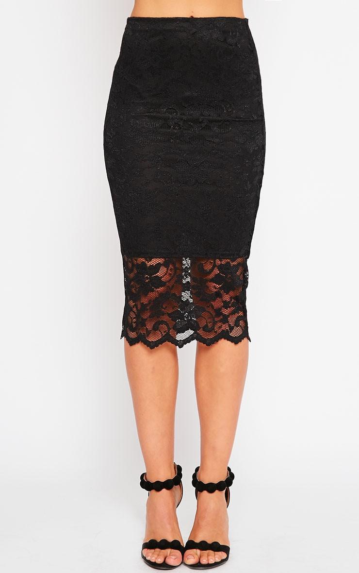 black lace skirt lace black skirt XVLFDXW