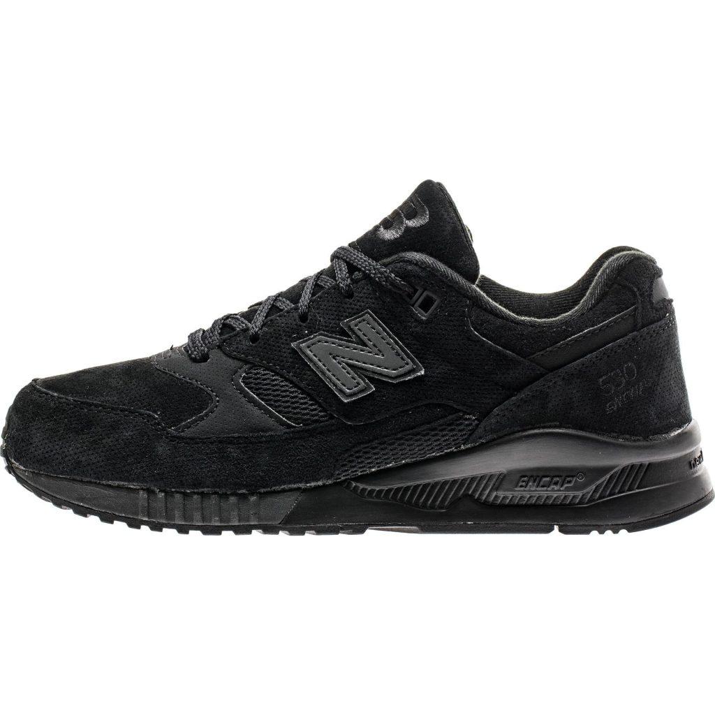 black new balance … new balance 530 perforated menu0027s – black … BSYQQYD