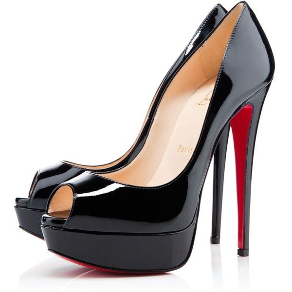 black peep toe pumps clboots$69 on. shoes heels pumpslouboutin pumpspeep toe ... FOOBYWC