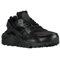 Black Running Shoes nike air huarache - womenu0027s - all black / black FQVIFQE