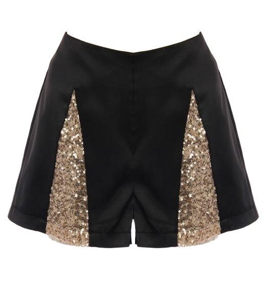 black sequin shorts harlequin sequin shorts QJOVENA