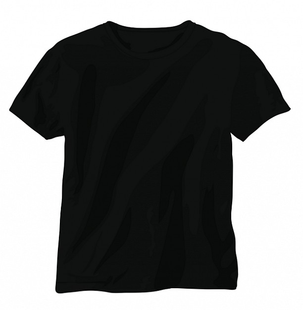 black shirts black shirt black vector t-shirt free vector XSCUQZM