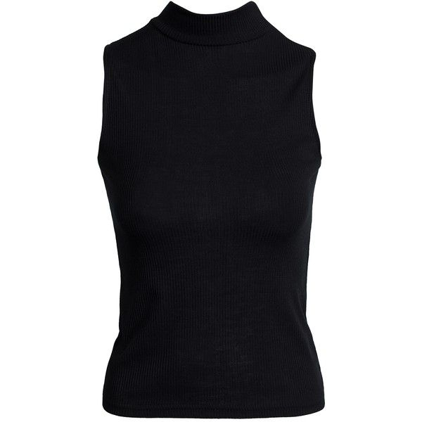Wear A Black Sleeveless Top To Bring Out The Naughty
