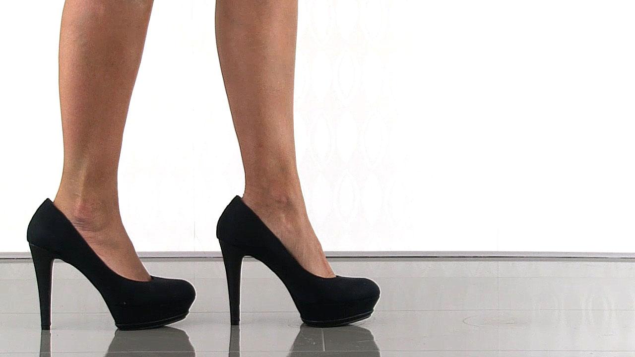 black suede heels michael antoniou0027s black lani - black suede for $59.99 direct from heels.com IEHNLRI