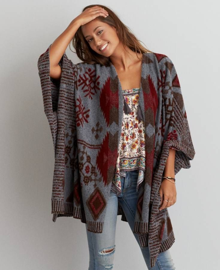 blanket cardigan RYVBZMG