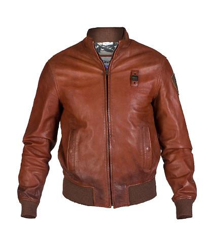 blauer jackets ... blauer - jackets - leather bomber jacket ... XWHFRRG