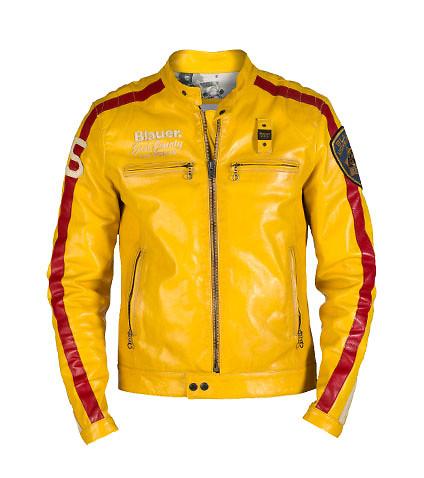 blauer jackets ... blauer - jackets - leather motorcycle jacket ... HMSNOQO