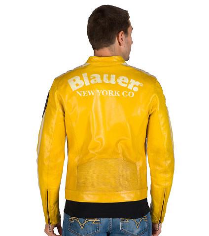 blauer jackets ... blauer - jackets - leather motorcycle jacket ... VHPOLCA