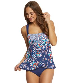 blouson swimsuit maxine tropical trip ots draped one piece swimsuit PRCEZES