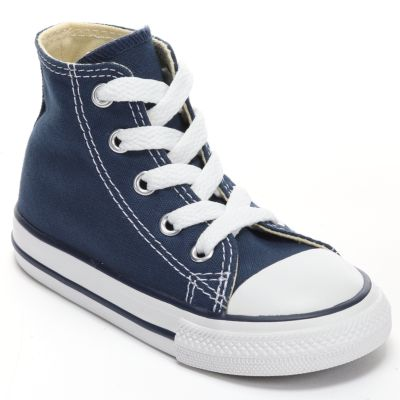Blue Converse baby / toddler converse chuck taylor all star high-top sneakers DFKJJBZ
