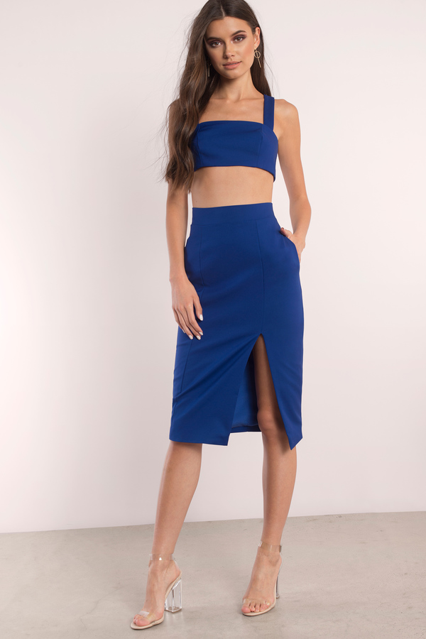 blue dresses, cobalt, got my attention midi dress, ... CEPUBWN