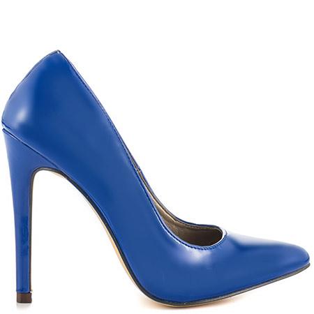 blue pumps michael antonio lamiss pat - blue pat pu RADLHMB