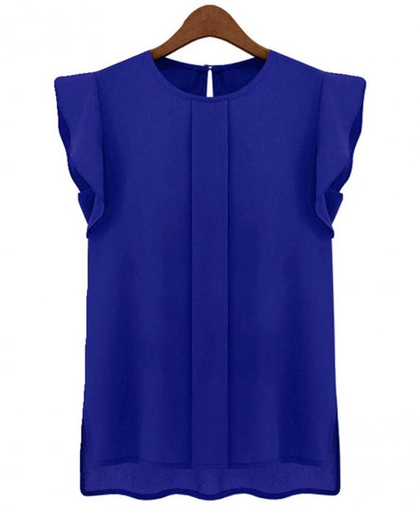 blue tops tops, womenu0027s apparel, nine box, nine box, my kind of blue top FHTBAEU